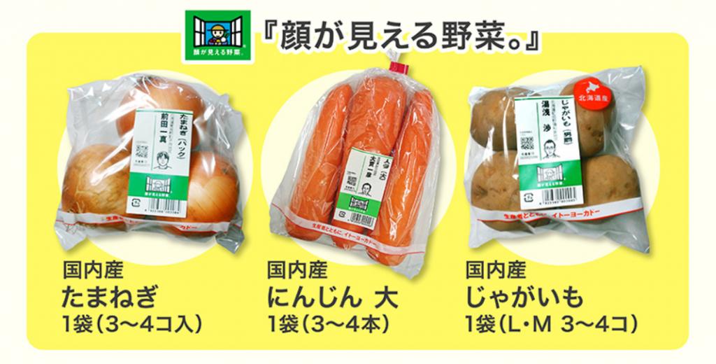 イトーヨーカドー野菜