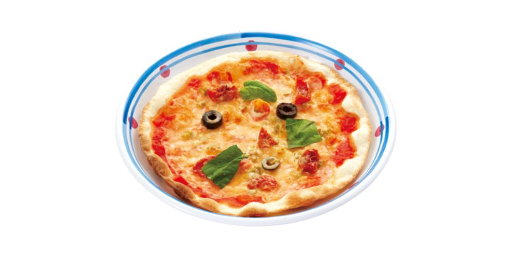 セミドライトマトとハラペーニョの辛口ピッコロピッツァ