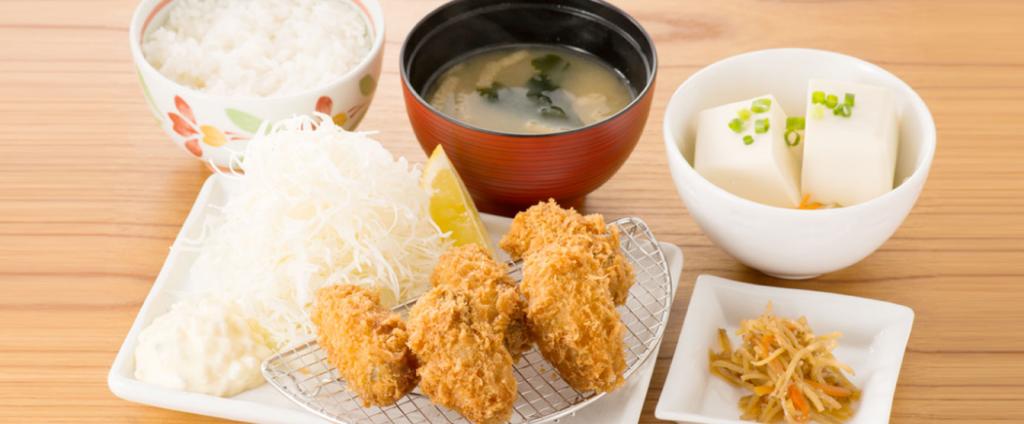 牡蠣フライ膳~広島産牡蠣使用~