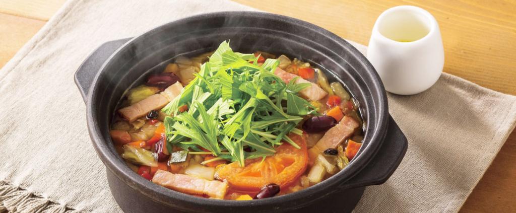 20品目の和風スープごはん