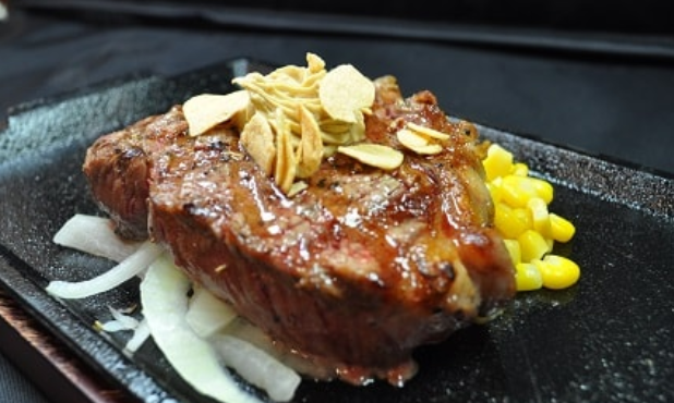 いきなりステーキのミドルリブ