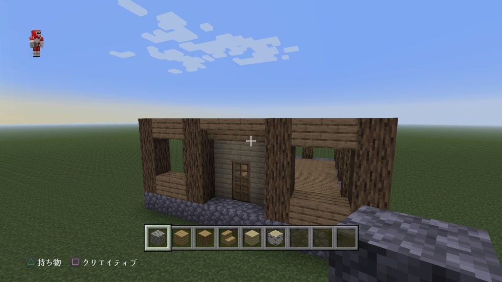 マイクラ家の玄関2