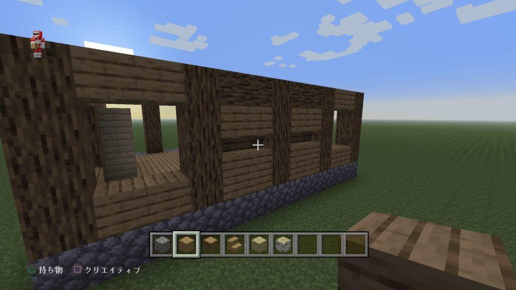 マイクラ家の壁2