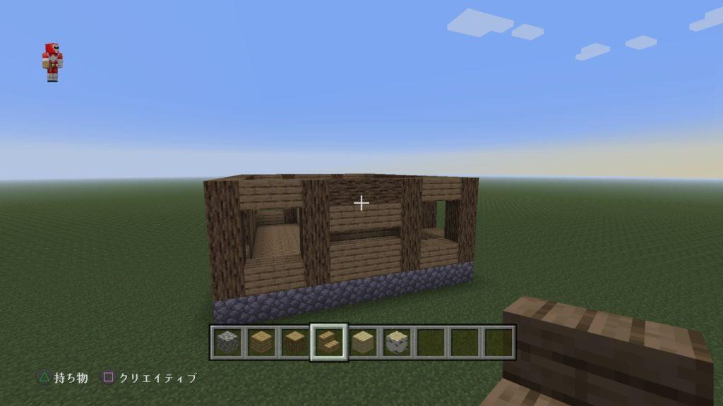 マイクラ家の壁3