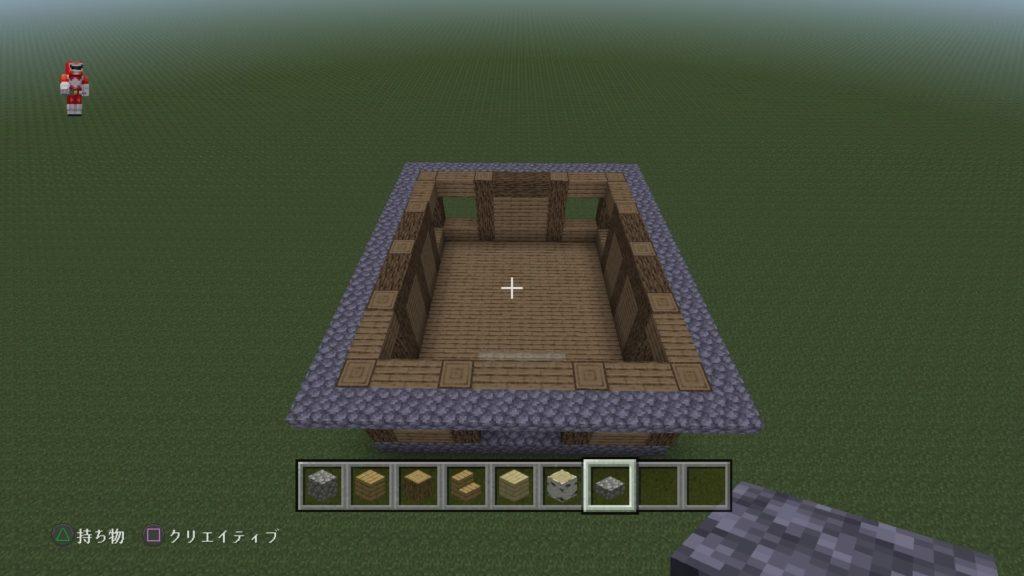 マイクラ家の屋根2
