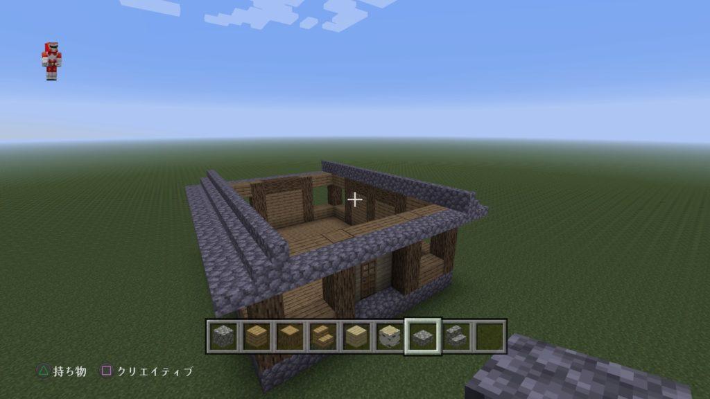 マイクラ家の屋根3