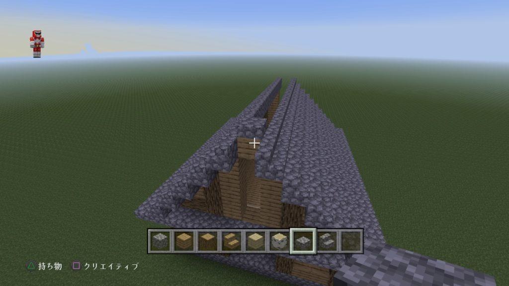 マイクラ家の屋根5