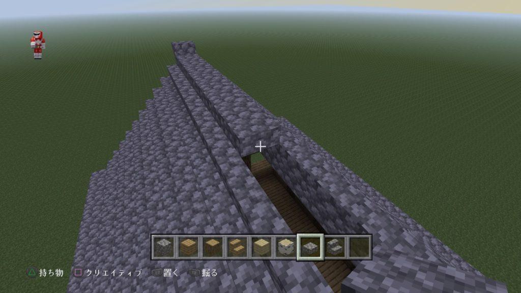 マイクラ家の屋根8