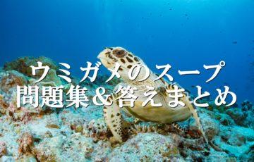 ウミガメのスープ問題集