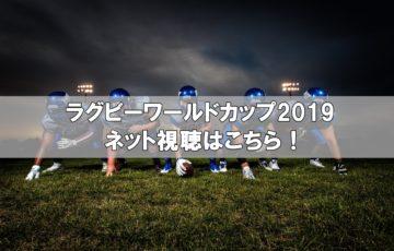 ラグビーワールドカップ2019ネット視聴