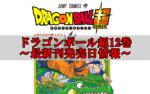 ドラゴンボール超12巻発売日